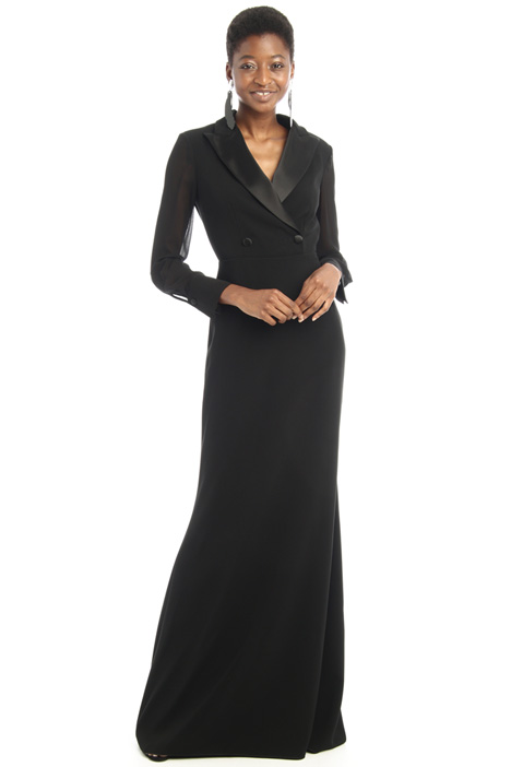 Long fitted cady dress Intrend
