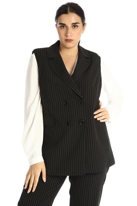 Textured vest Intrend