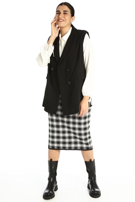 Knitted tube skirt Intrend