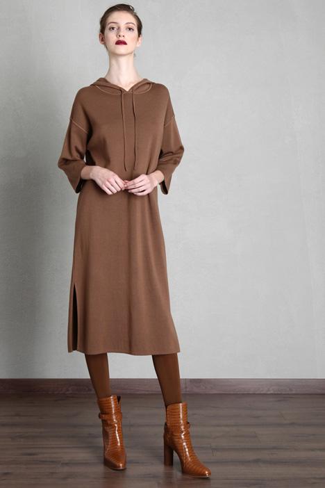 Wool yarn dress Intrend