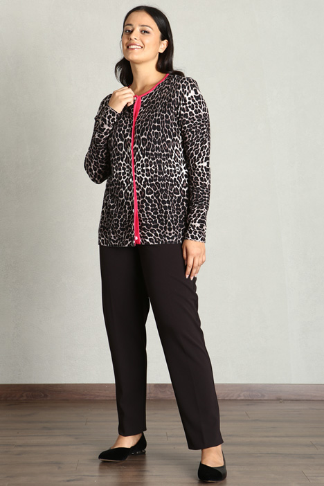 Cardigan stampato Intrend