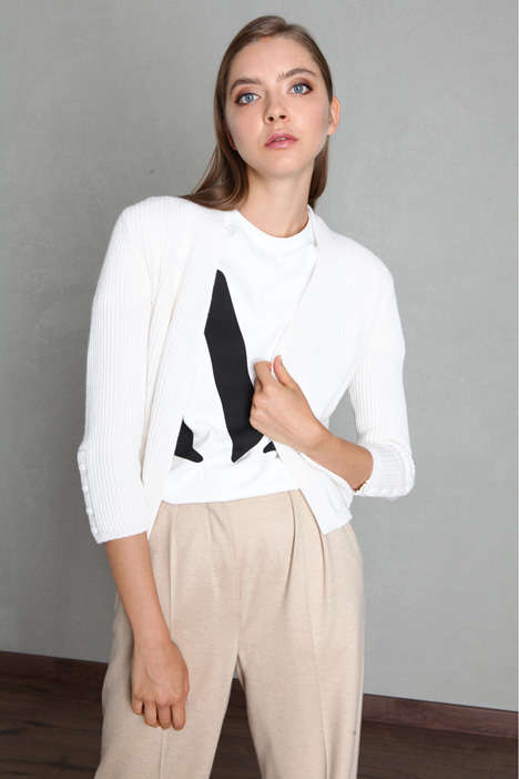 Cashmere and cotton cardigan Intrend