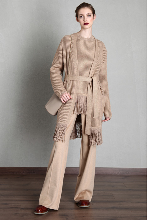 Long fringed cardigan Intrend