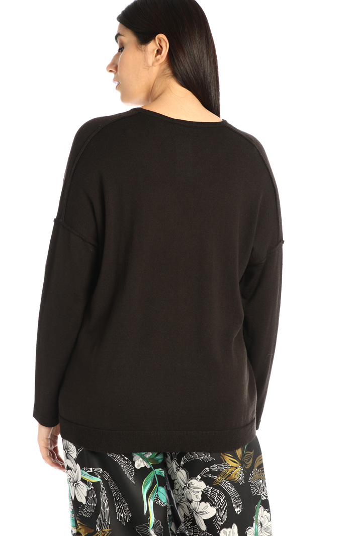Oversized wool blend sweater Intrend