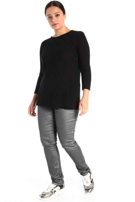 Wool blend and lurex jumper Intrend