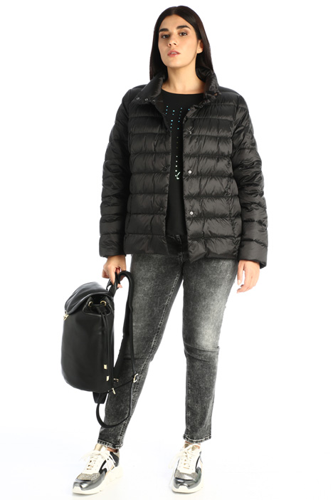 Semi-fitted down jacket Intrend