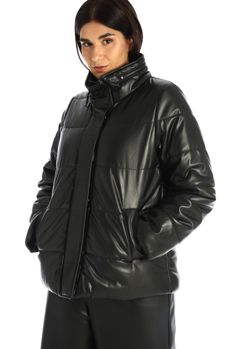 Coated effect down jacket Intrend