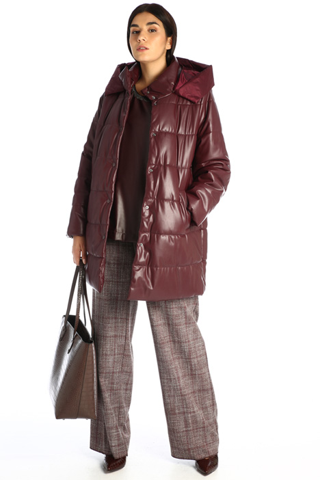 Faux leather down jacket Intrend