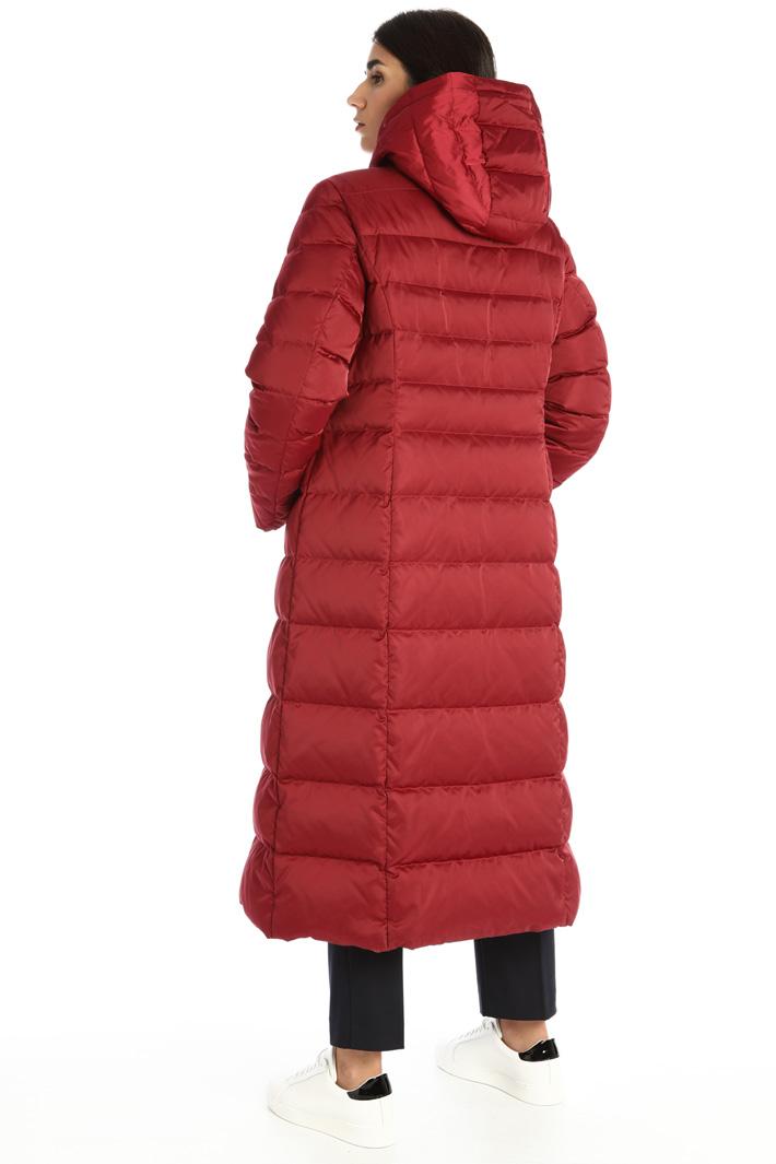 Long satin coat Intrend