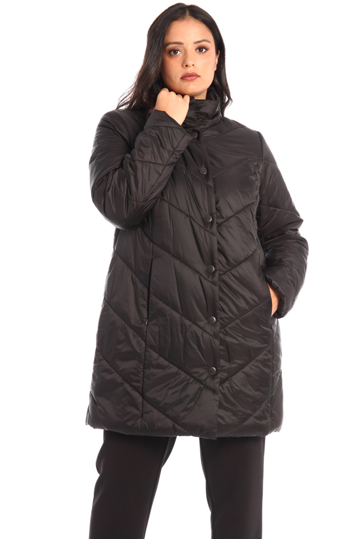 Tech satin padded jacket Intrend