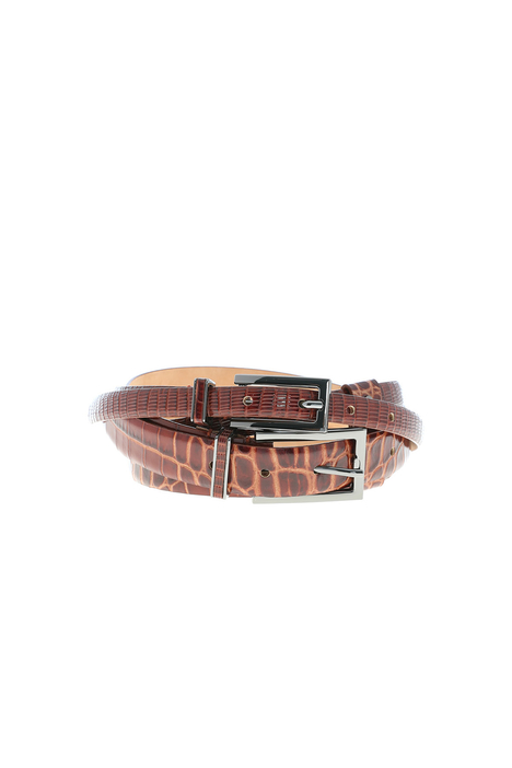 Double leather belt Intrend