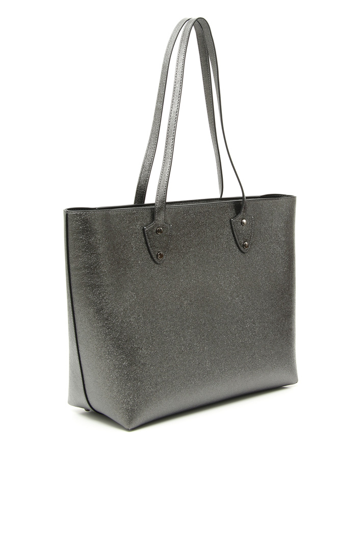 Faux leather shopper bag Intrend