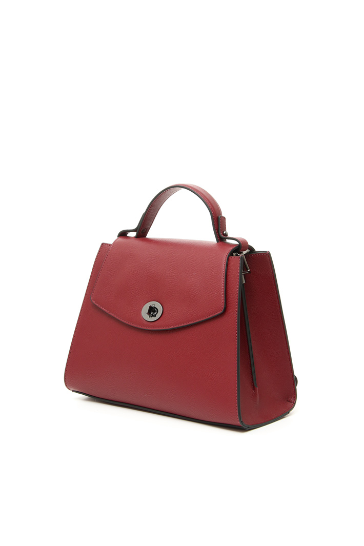 Faux leather hand bag Intrend