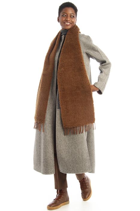 Fur effect scarf Intrend