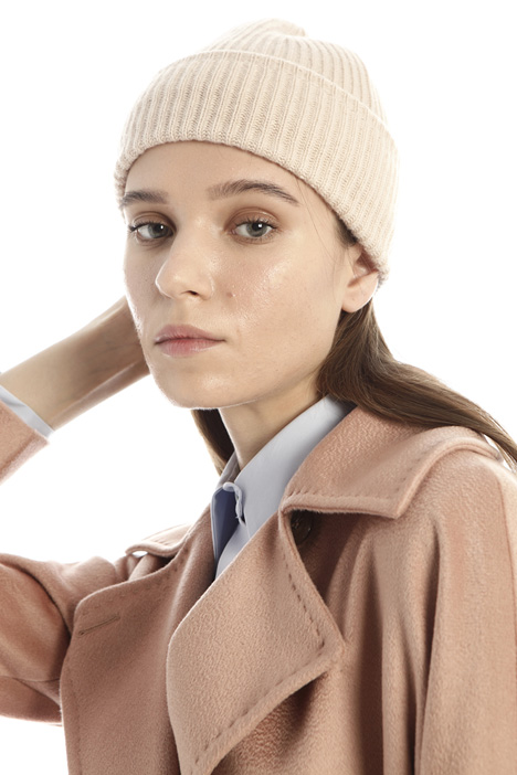Wool and cashmere yarn hat Intrend
