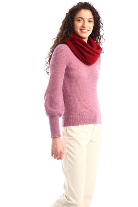 Wool blend collar Intrend