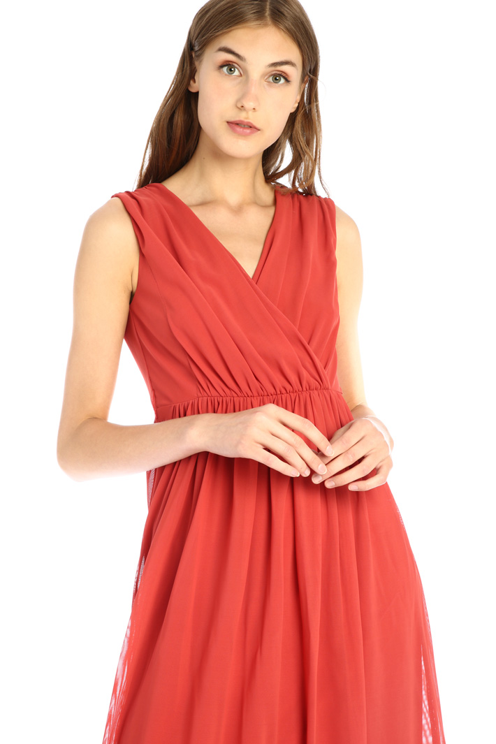 Fit and flare tulle dress Intrend