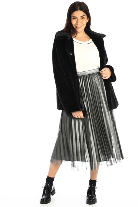 Laminated tulle skirt Intrend