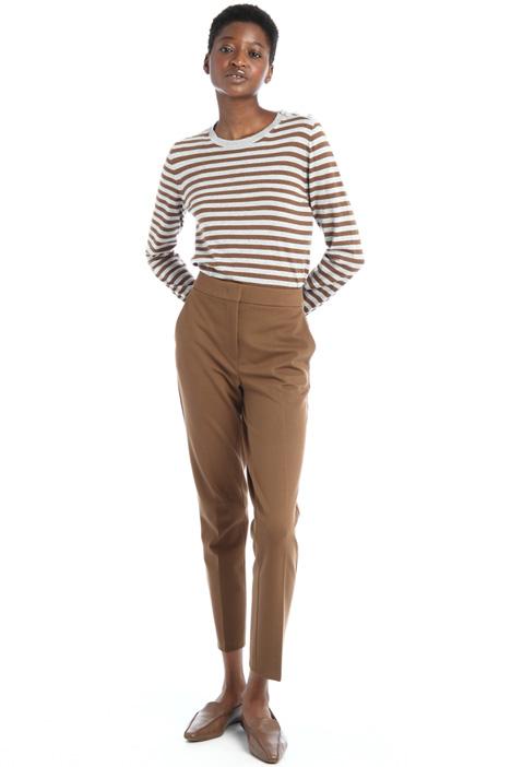 Pantaloni in jersey di viscosa Intrend