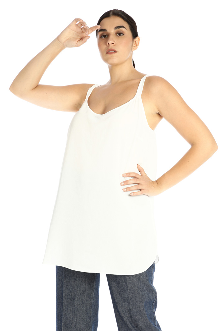 Top in woven fabric  Intrend