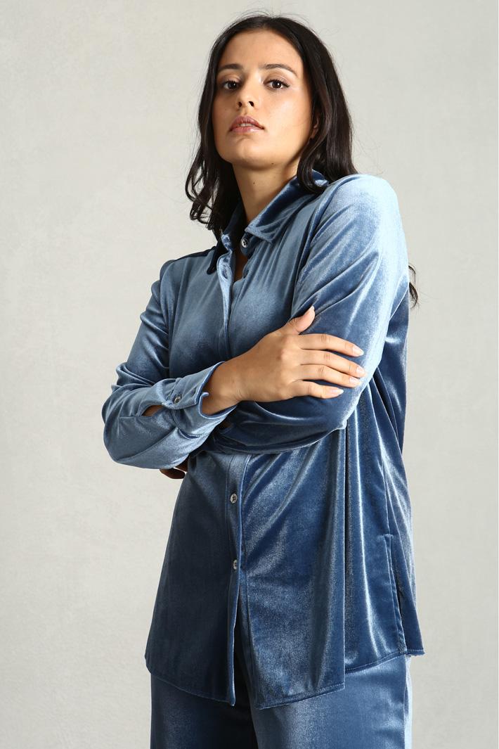 Velvet shirt Intrend