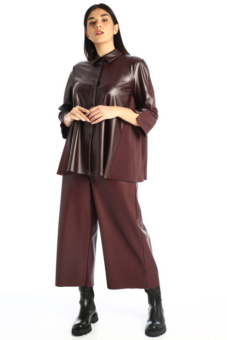 Faux leather tunic Intrend