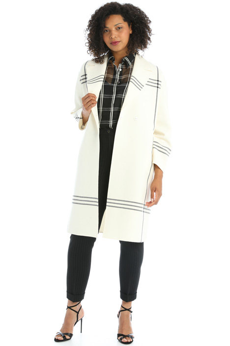 Double-wool coat Intrend