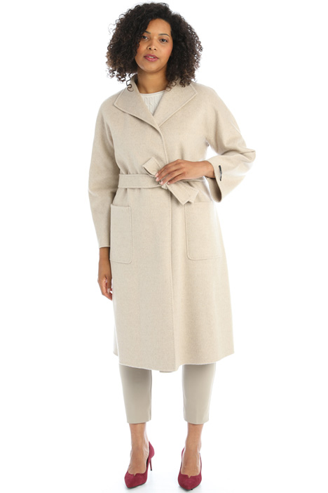 Double cashmere coat Intrend