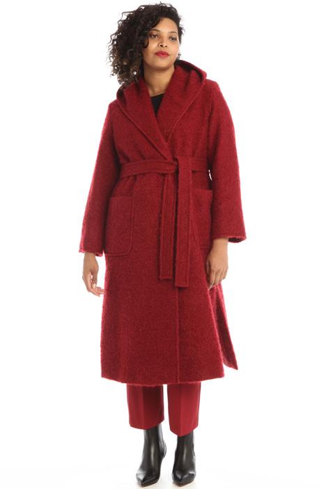 Wool bouclé coat Intrend