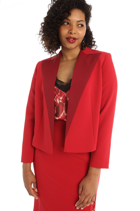 Compact crepe jacket Intrend
