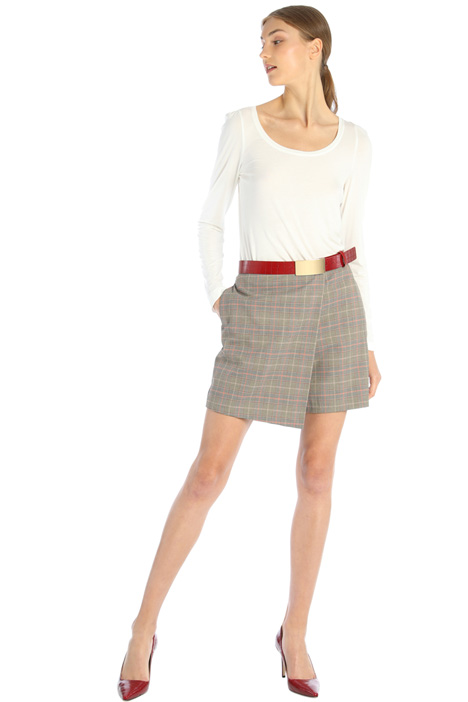 Wrap-up divided skirt Intrend