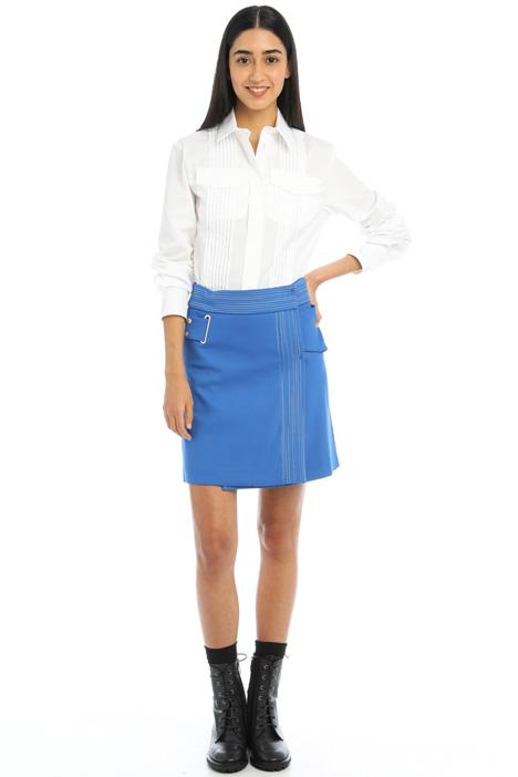 A-line cotton blend skirt Intrend