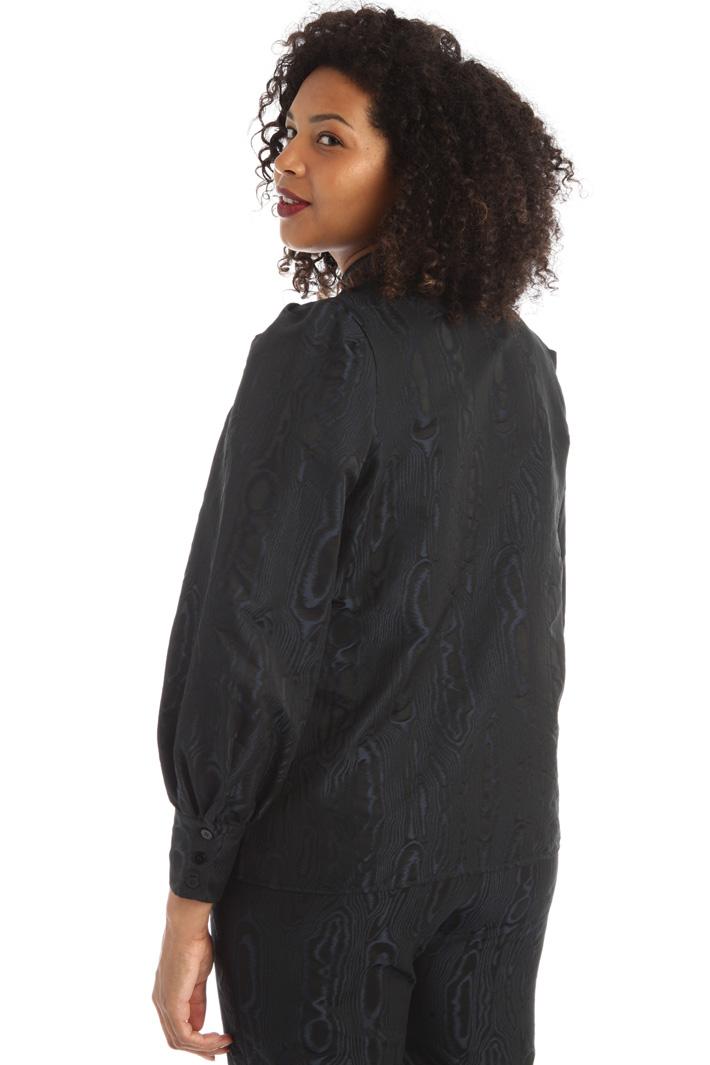 Jacquard taffeta shirt Intrend