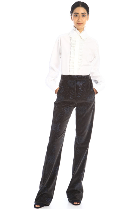 Ruched plastron shirt Intrend
