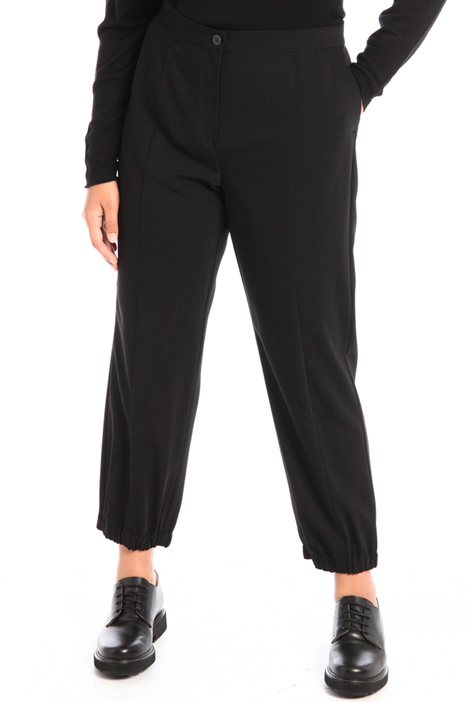Jogger style cady trousers Intrend
