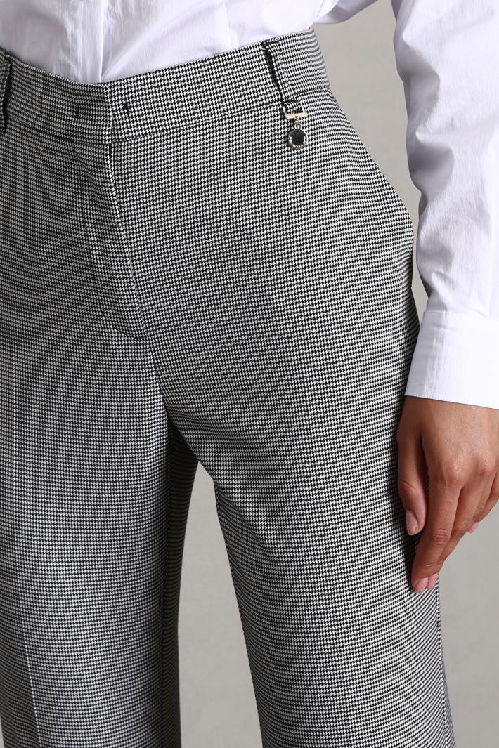 Viscose cigarette trousers Intrend