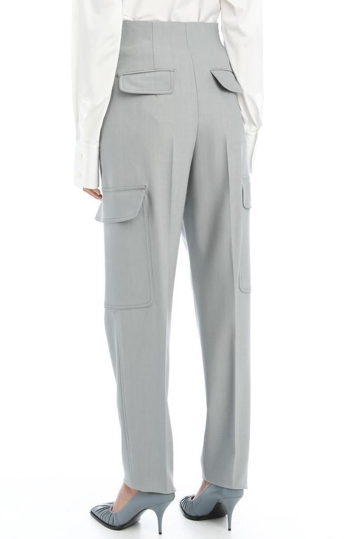 Gabardine trousers Intrend