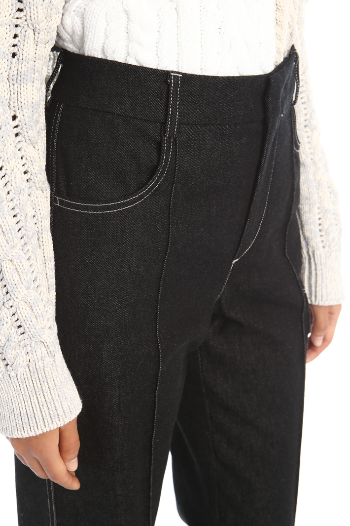 Stitched jeans Intrend