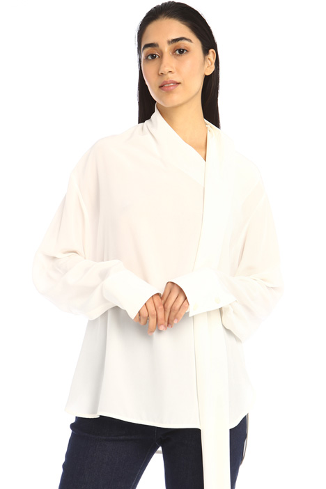 Foulard neck blouse Intrend
