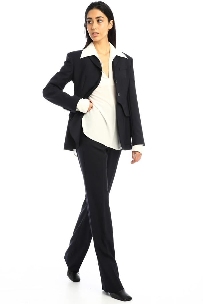 Oversized silk blouse Intrend