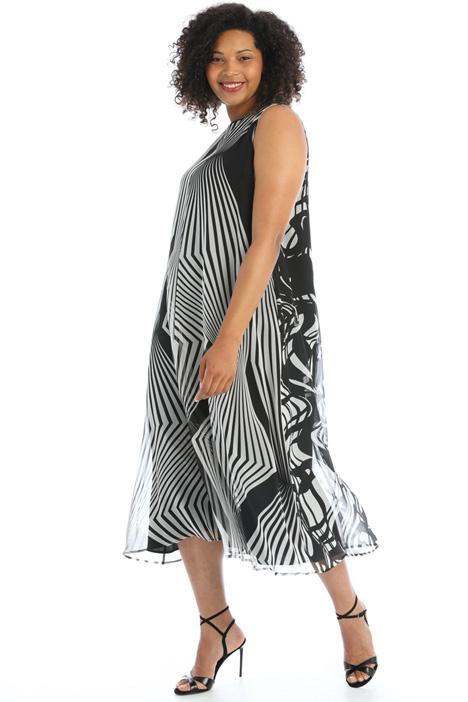 Fluid silk dress Intrend