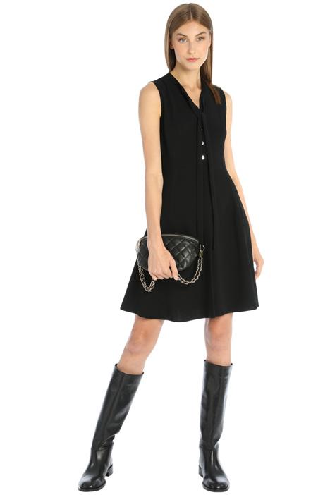 Fluid flared dress Intrend