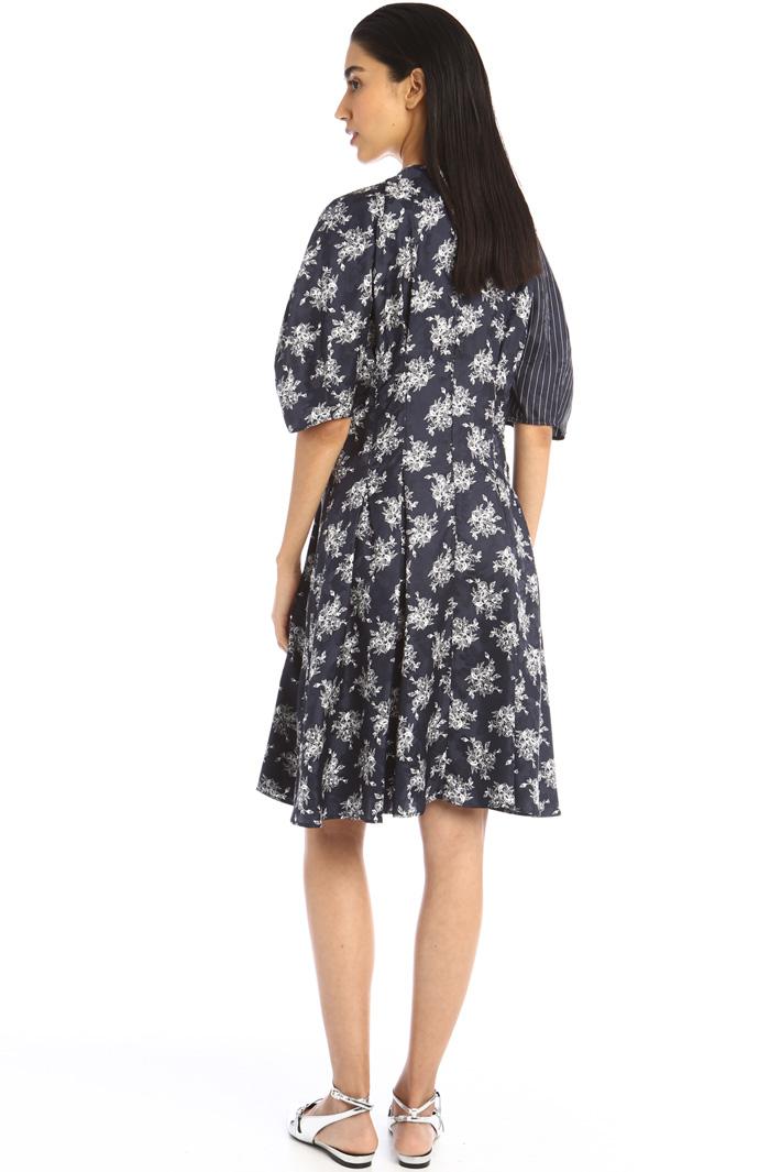 Silk jacquard dress Intrend