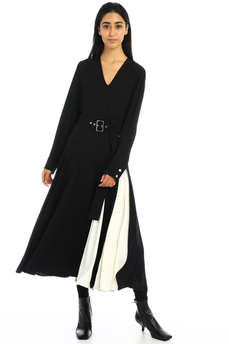 Enver satin dress Intrend