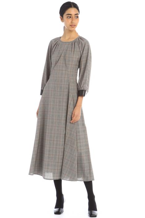 Wool canvas dress Intrend