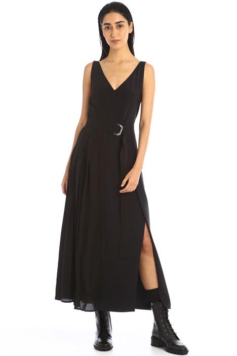 Asymmetrical silk dress Intrend