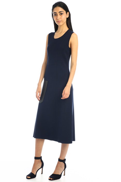 Single pocket knitted dress Intrend