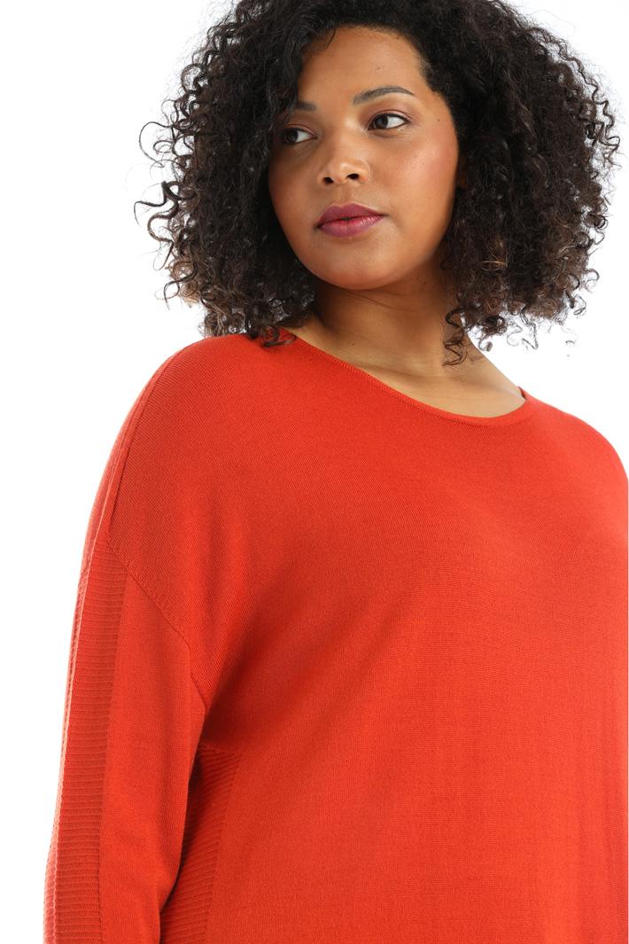 Long wool blend sweater Intrend