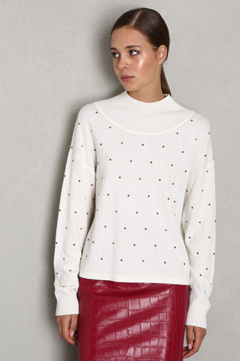 Studded sweater Intrend