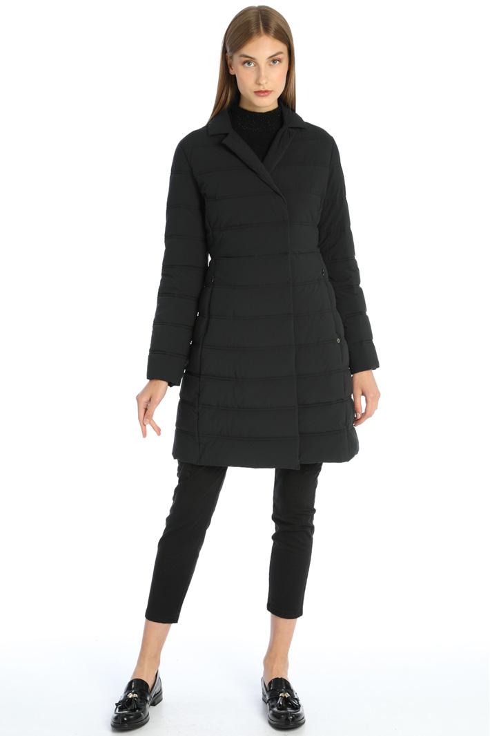 Slim fit padded coat Intrend